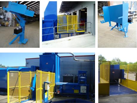 compacteurs de déchets - équipements périphériques