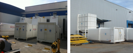 compacteurs de déchets : installations