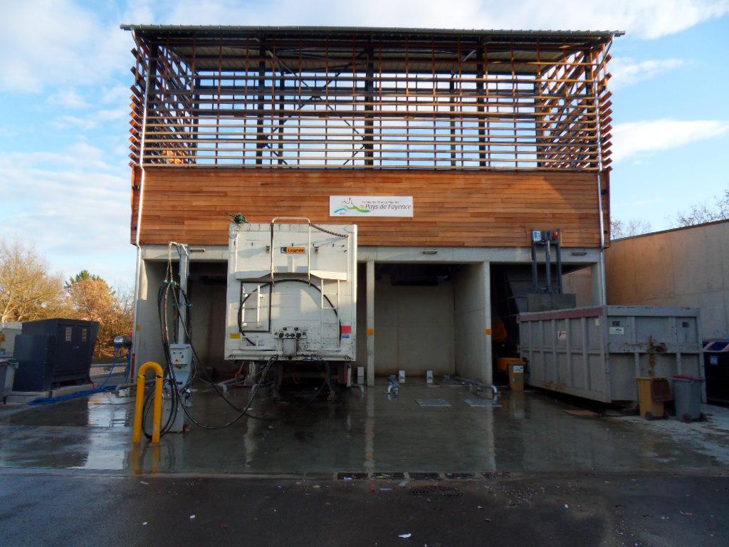 station de transfert déchets