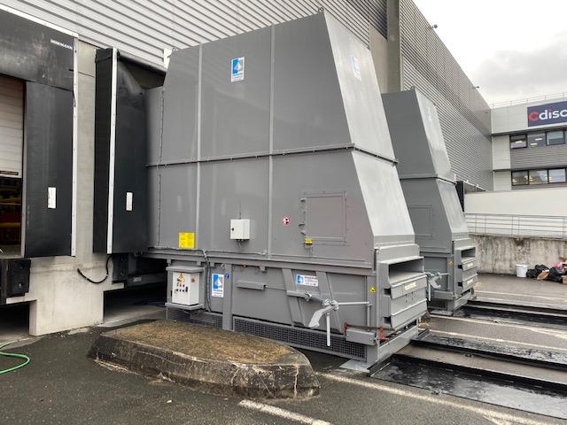 compacteurs déchets poste fixe